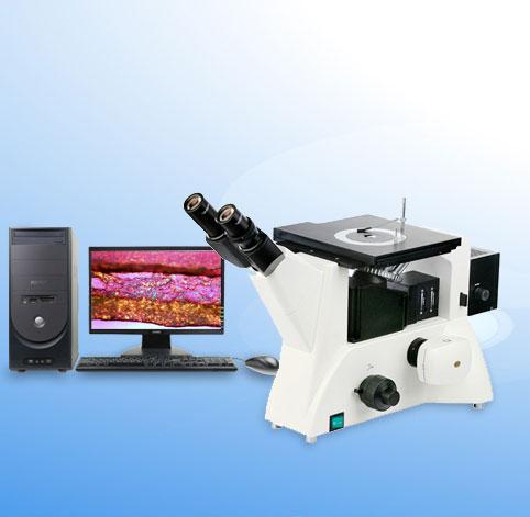 倒置金相显微镜 11XD-PC